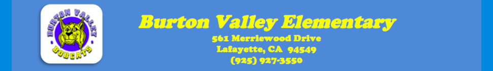 Burton Valley Elementary School   Logo